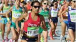 Gladys Tejeda ocupó el sexto puesto en la Maratón de Valencia - Noticias de gladys tejeda