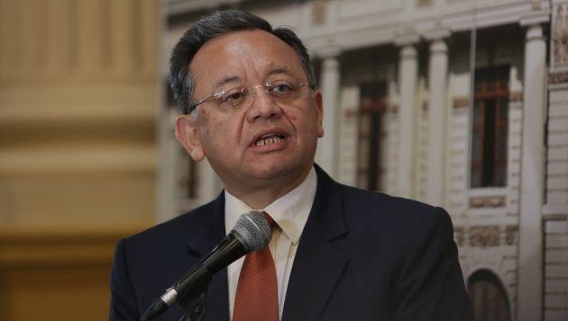 Edgar Alarcón investigará todo, asegura. (Anthony Niño de Guzmán)