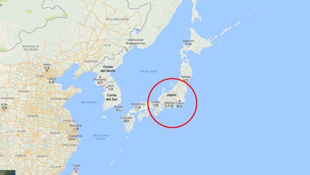 Japón: Se registró terremoto de 6.1 grados sin alerta de tsunami en el noreste. (Google Maps)