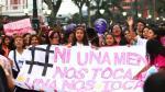 Ni una menos: Convocan marcha para protestar por la violencia contra las mujeres - Noticias de manuela ramos