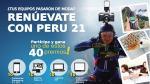 Perú21 te regala 10 celulares, 10 laptops, 10 tablets y 10 Gopro.