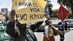 """Escasez de agua en Bolivia """"es como un terremoto"""", dijo Evo Morales [Fotos] - Noticias de escasez de agua"""
