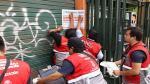 Callao: Clausuraron galería que no contaba con certificado de Defensa Civil - Noticias de saenz pena