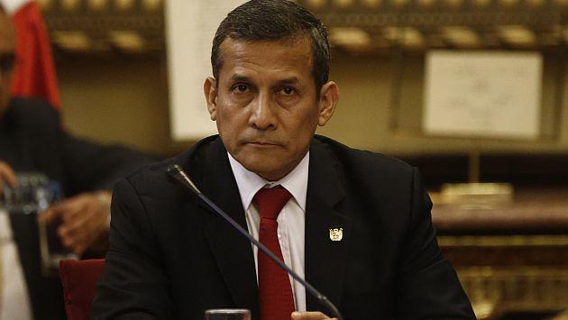 Migraciones confirmó que Ollanta Humala no ha salido del país. (Renzo Salazar)