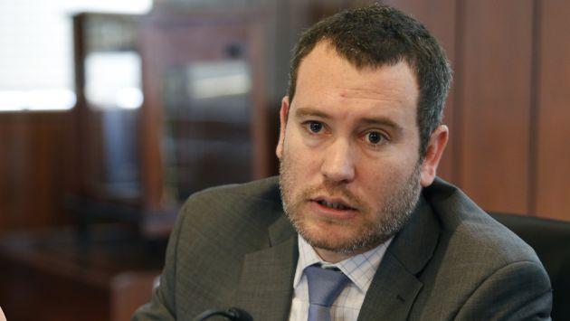 César Liendo funcionario del MEF dijo que Economía crecería 4.8% en el 2017. (USI)