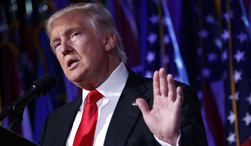 Donald Trump calificó a la OMC de desastre durante la campaña. (AP)