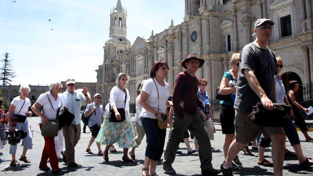 Más de 4 millones de turistas ingresarán al Perú durante el 2017, según Mincetur. (Perú21)