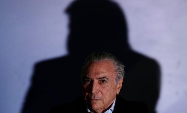 Michel Temer anuncia medidas contra proyectos de normas que buscan la impunidad de políticos corruptos (Reuters).