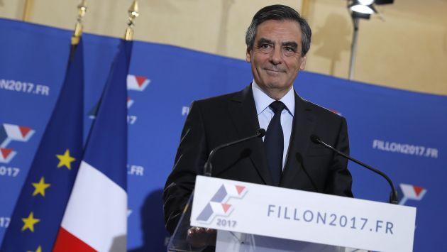 François Fillon se impuso como el candidato de la derecha en Francia. (AFP)