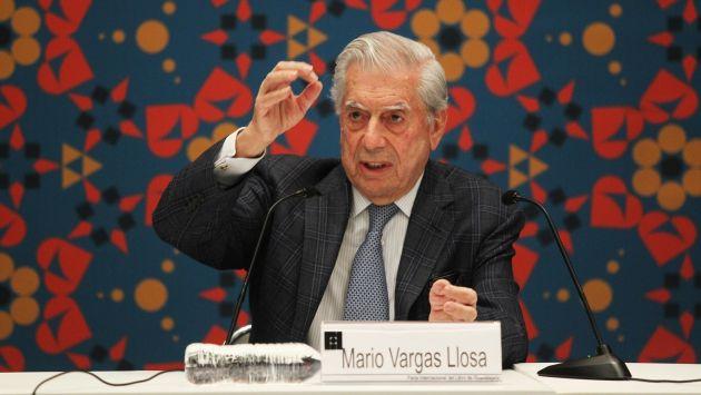 Mario Vargas Llosa volvió a criticar a Donald Trump. (EFE)