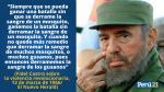 Frases de Fidel Castro sobre Cuba, la revolución, la democracia y más [Video] - Noticias de fidel supo