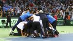 Argentina venció 3-2 a Croacia y logró su primera Copa Davis [Fotos] - Noticias de federico delbonis