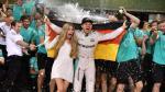 Nico Rosberg se proclamó campeón mundial de Fórmula 1 [Fotos] - Noticias de damon hill
