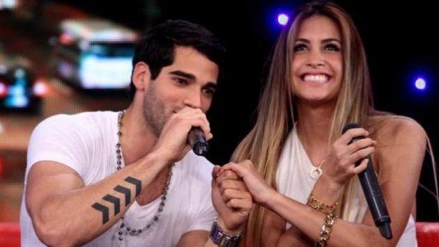 Guty Carrera le deseó suerte a Milett Figueroa en el Miss Supertalent of the World. (USI)