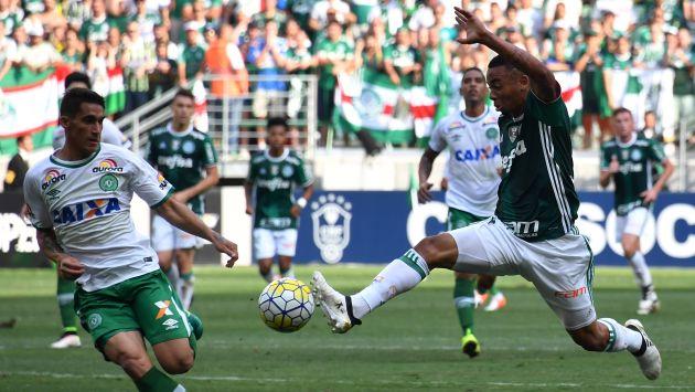 El último partido del equipo brasileño Chapecoense antes del trágico accidente. (AFP)