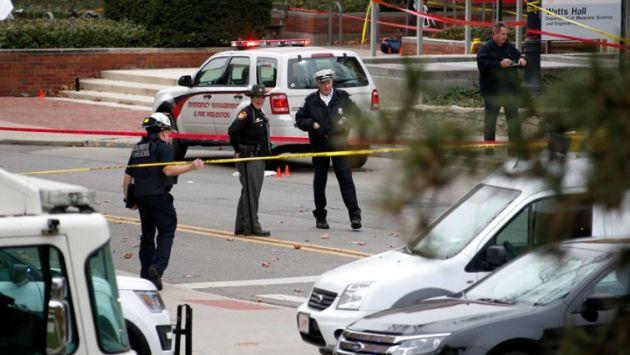 """Estado Islámico dijo que joven que perpetró ataque en universidad de Ohio es uno de sus """"soldados"""". (AFP)"""