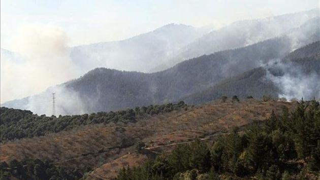 Áncash: Incendios forestales arrasaron 2,500 ha de pastizales. (Perú 21)