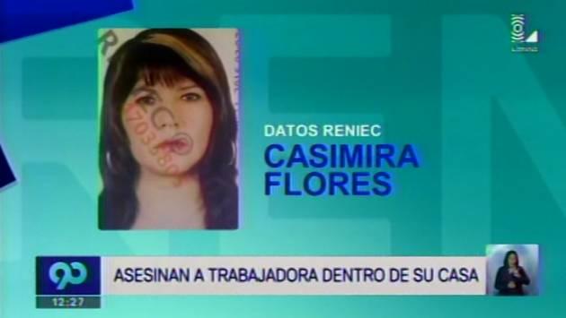 San Juan de Miraflores: Asesinan de tres balazos a mujer bombera.