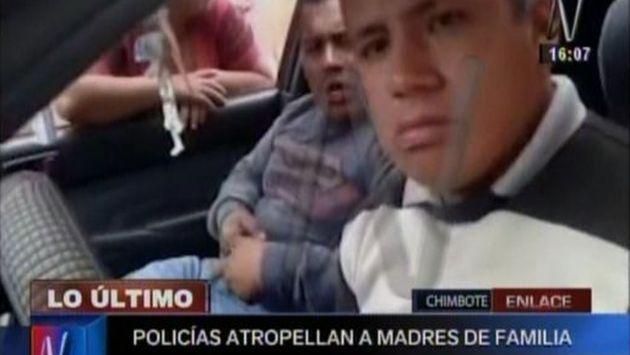 Erick Salazar Cóndor y Airton Gálvez Zúñiga son los nombres de los efectivos que afrontarían un proceso penal. (Canal N)