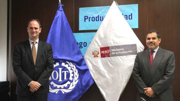 OIT y Produce firman convenio para impulsar productividad de pequeñas y medianas empresas. (Difusión)