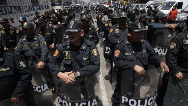 Solo hay un policía por cada 856 habitantes en el país. (USI)
