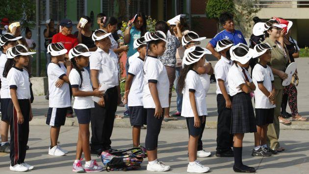El presupuesto asignado a educación en el 2014 fue de S/18,227'647,837. (USI)
