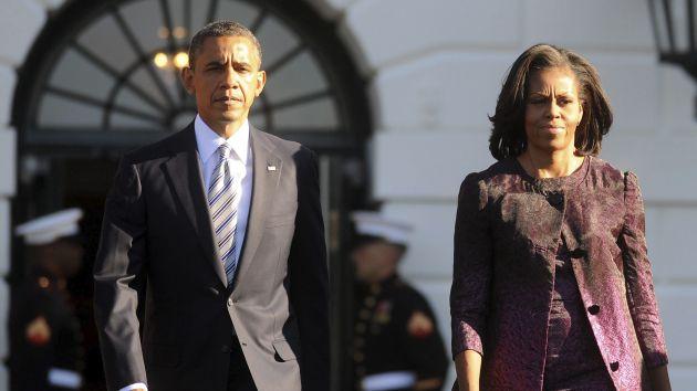 Mandatario señaló que su esposa no tiene planes de tentar la Casa Blanca. (EFE)