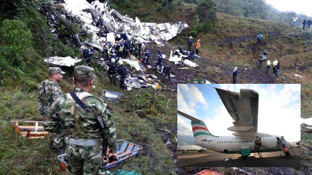 Juan Sebastián Upegui, copiloto de Avianca, contó cómo se vivió los últimos minutos en el avión Lamia. (EFE)