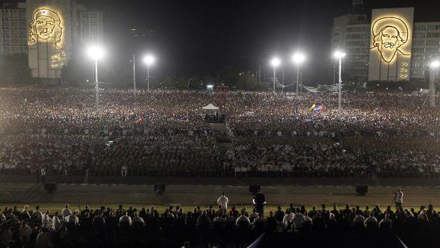 Más de 6 millones de personas juraron lealtad a las ideas de Fidel Castro en Cuba. (EFE)