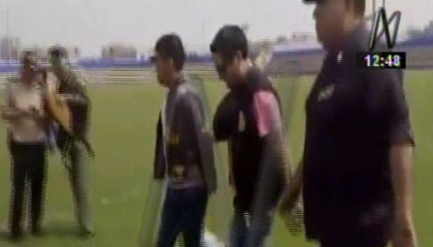 Detenidos fueron llevados a la Divincri de Huaral.