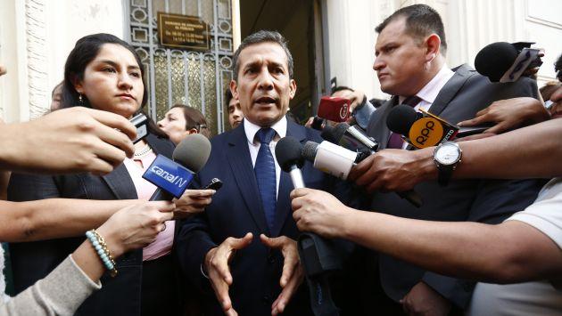 Al voto. En los próximos días se resolverá la situación jurídica del ex mandatario Ollanta Humala. (Piko Tamashiro)