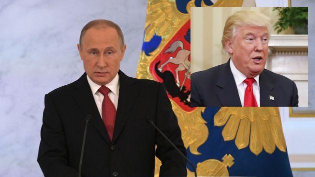 """""""Confiamos en aunar fuerzas con EE.UU. en la lucha contra el terrorismo internacional"""", dijo Putin. (AP)"""