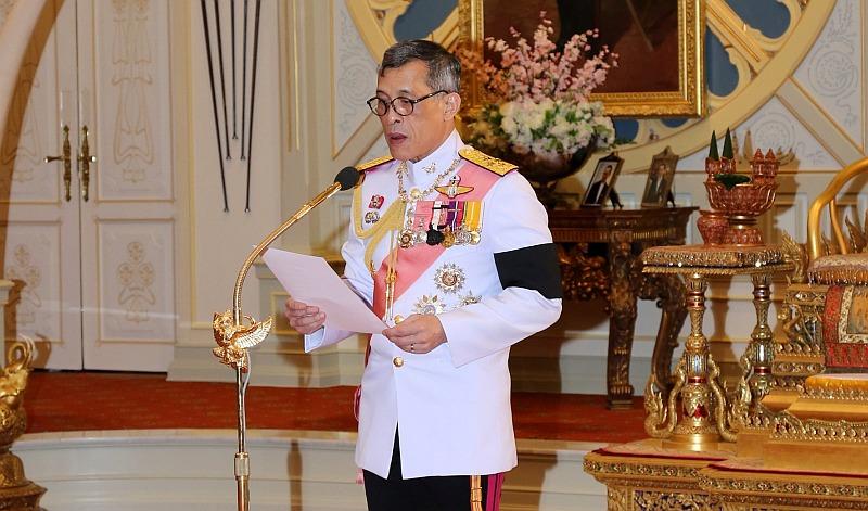 El príncipe heredero Vajiralongkorn es proclamado rey de Tailandia. (Reuters)