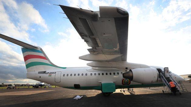 La última conversación entre el piloto de Lamia y la torre de control antes del siniestro. (Reuters)