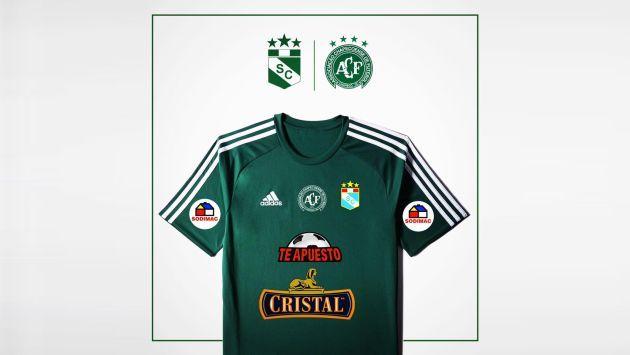 Sporting Cristal anunció que el domingo jugará con camiseta verde en homenaje al Chapecoense. (Facebook Sporting Cristal)