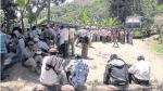 Piura: Más de cuatro mil habitantes y ronderos acataron paro y bloquearon vías - Noticias de jorge merino