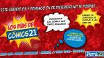 Cómics21 llega este 03 y 04 de diciembre a Arequipa - Noticias de comics
