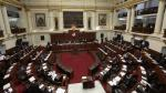 Congreso aprobó ley que amplía prisión preventiva para casos de crimen organizado. (Anthony Niño de Guzmán)