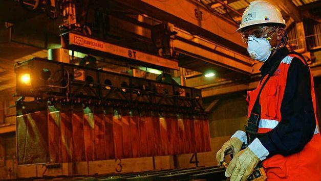 Se espera que producción de cobre supere los 2.3 millones de TMF al cerrar el 2016. (USI)