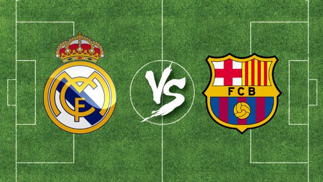 A qu hora juega barcelona y real madrid por la liga for En que canal juega el barcelona