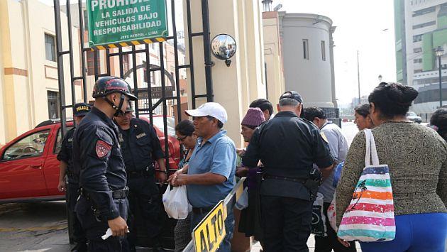 Piden 9 meses de prisión preventiva para agitadores de los desmanes en Huaycán. (Andina)