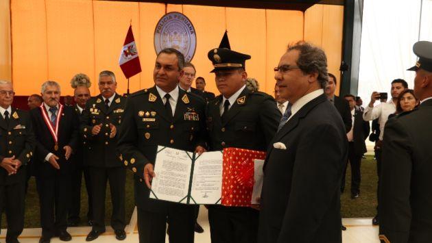 Quilcate Albarrán presta servicios en la Región Policial La Libertad. (Difusión)
