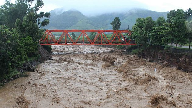 Suboficial perece al caer al río Mazamari. (USI)