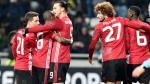 Manchester United venció 2-0 al Zorya de Ucrania y clasificó a la siguiente etapa de la Europa League. (AFP)