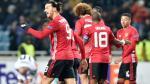 Manchester United venció 2-0 al Zorya de Ucrania y clasificó a la siguiente etapa de la Europa League - Noticias de zlatan ibrahimovic