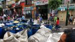 La Victoria: Calles de Gamarra amanecieron repletas de basura - Noticias de rodrigo iniguez cuadra