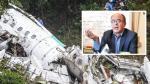 """El ministro de Defensa de Bolivia, Reymi Ferreira acusó este viernes de """"asesinato"""" al piloto del avión de LaMia. (AFP)"""