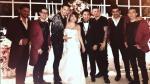 Magaly Medina y su esposo, Alfredo Zambrano, celebraron su amor al ritmo de Ráfaga - Noticias de karen schwarz