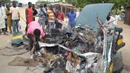45 muertos y 33 heridos dejó un doble atentado suicida en Nigeria (AFP)
