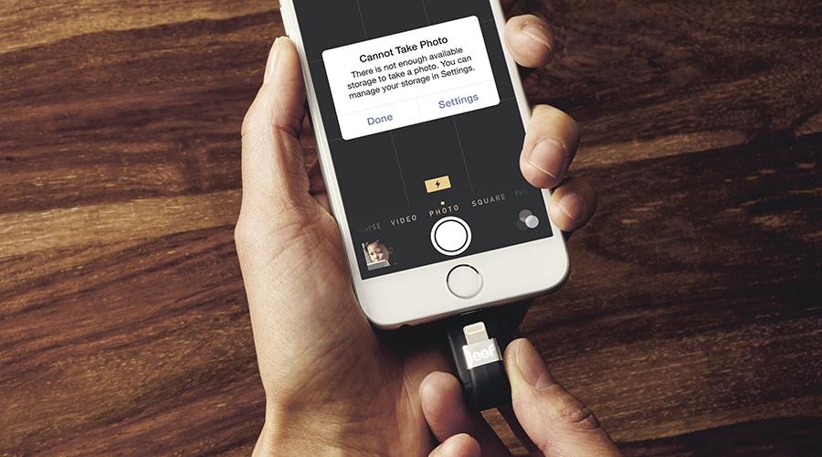 Ideal para aquellas personas que no suelen borrar la información que almacenan en su iPhone. (Apple)